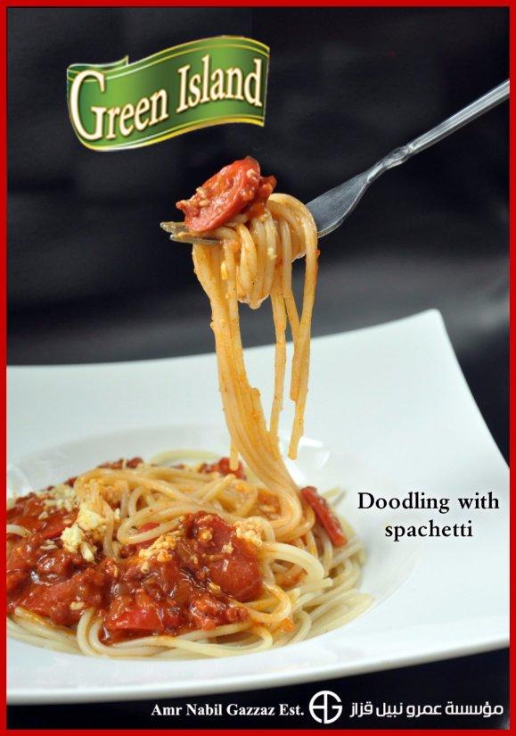 Green Island Spaghetti Advertising