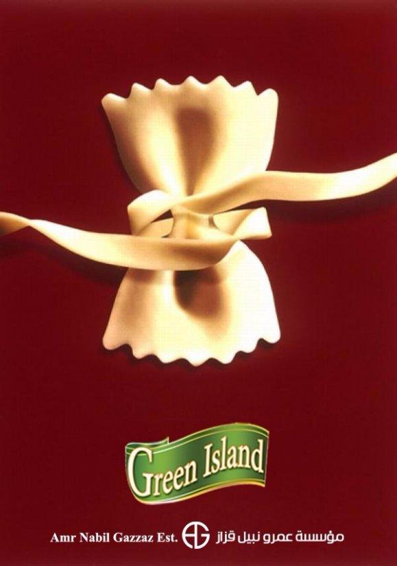 Green Island Pasta Advertising